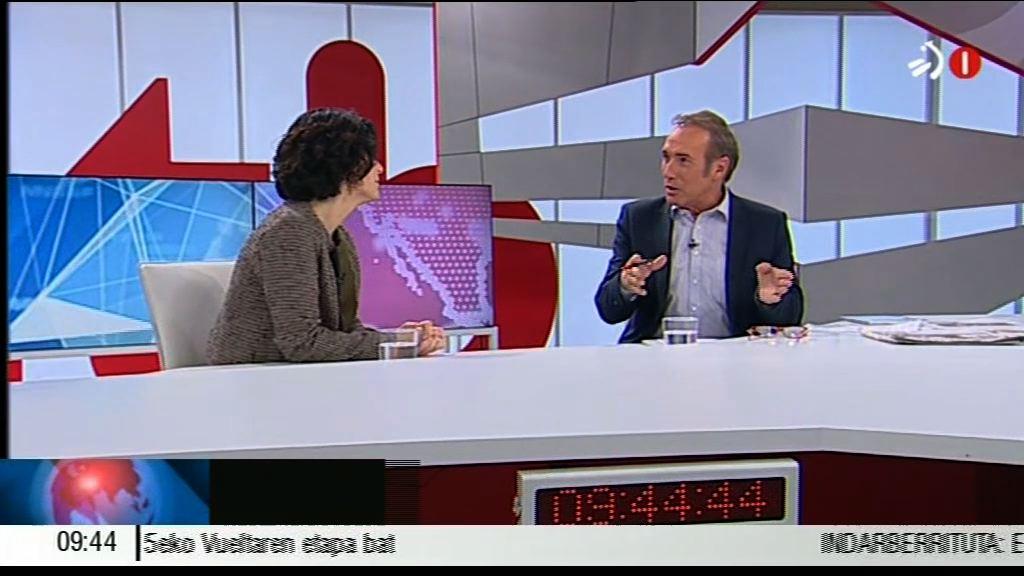 Marian Elorza ha sido entrevistada en ETB [36:46]