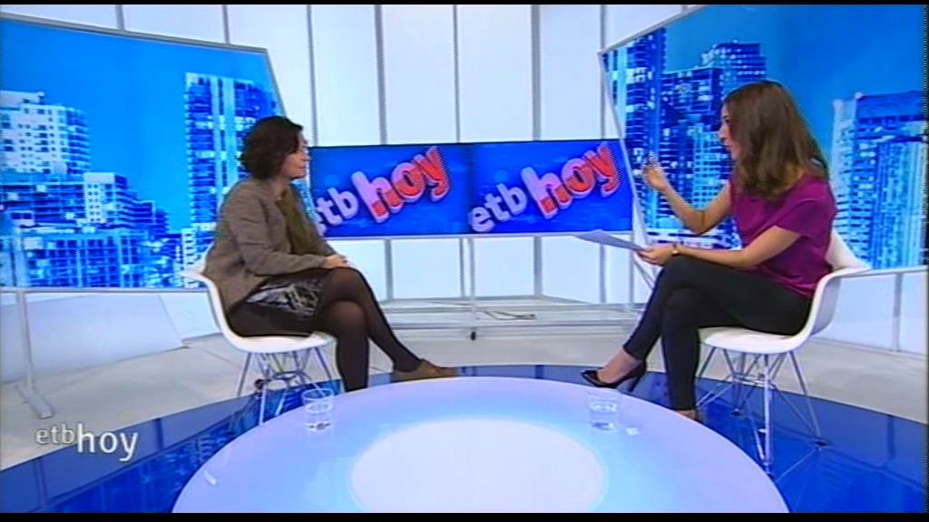 Marian Elorza ha sido entrevistada en ETB [20:09]