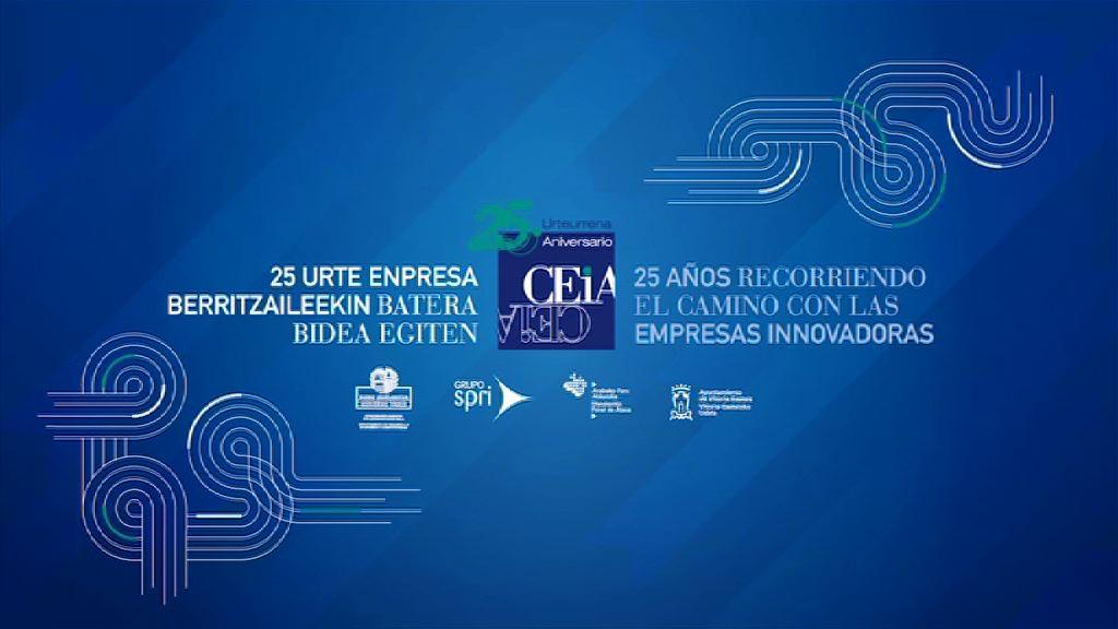 El 25 aniversario de CEIA pone de manifiesto la iniciativa empresarial de Álava [3:27]
