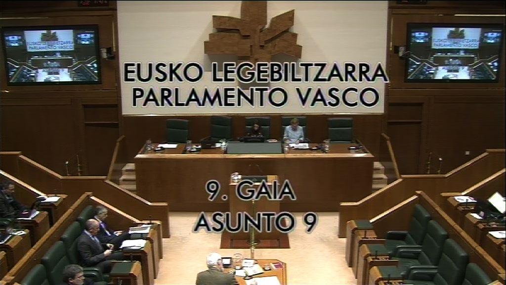Interpelación, Gorka Maneiro, grupo Mixto UPyD, informe sobre atentados terroristas [28:38]