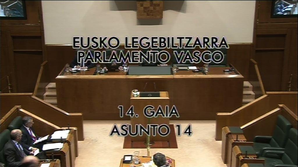 Pregunta, Carmelo Barrio, grupo Popular Vasco, Convenio Guggenheim [9:12]