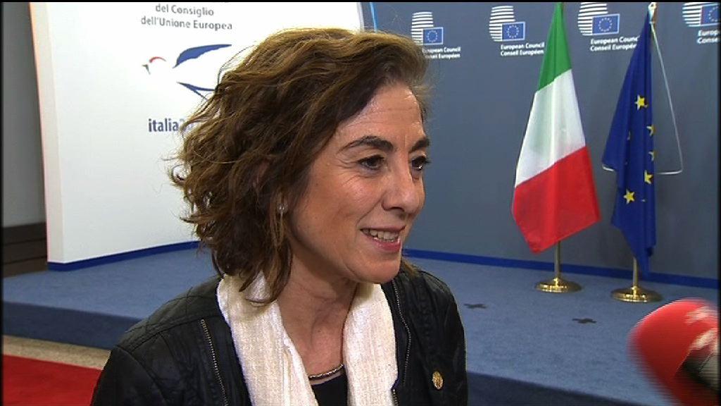 Cristina Uriartek gazteria politiken eremuan bultzada handiagoa eskatu du Europar Batasuneko Ministro Kontseiluan [2:13]