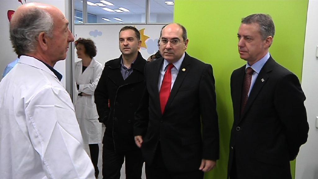 El Lehendakari inaugura el Centro de Salud de Getaria [13:17]