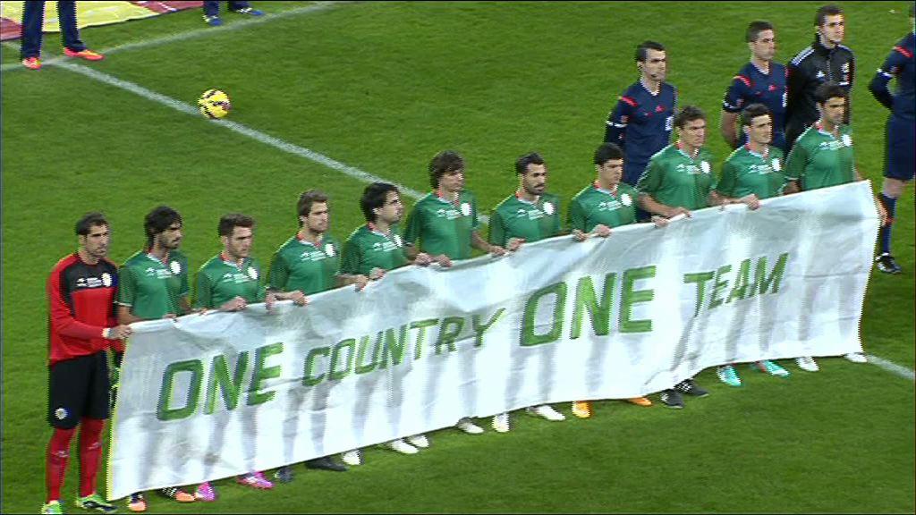 Lehendakaria Euskadi-Katalunia futbol selekzioen partidan izan da [0:31]