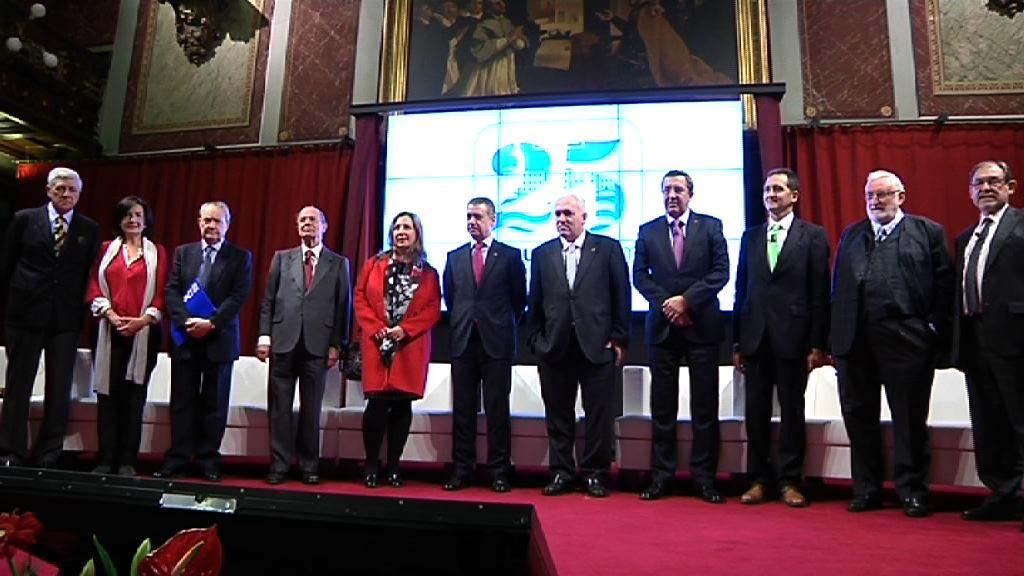 El lehendakari asiste al 25 aniversario del Deusto Forum [5:09]