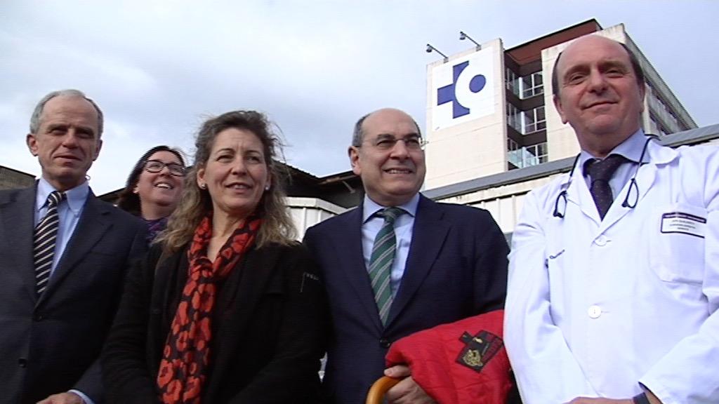 Los consejeros de Salud y de Medio Ambiente y Política Territorial, Jon Darpón y Ana Oregi, destacan la gestión sostenible del Hospital Galdakao-Usansolo [2:27]
