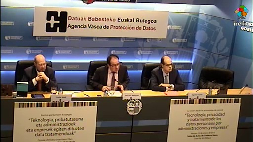 La AVPD cierra los actos del 10º aniversario con un encuentro de Agencias de Protección de Datos de España, Cataluña y País Vasco [61:32]