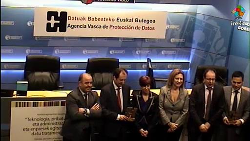 La AVPD cierra los actos del 10º aniversario con un encuentro de Agencias de Protección de Datos de España, Cataluña y País Vasco [11:35]