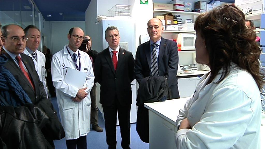 El lehendakari felicita a Biocruces por la obtención de la acreditación como Instituto de Investigación Sanitaria [6:33]
