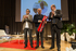 "Bittor Oroz entrega el premio ""Basque Country Culinary Action"" a Oscar Farinetti"