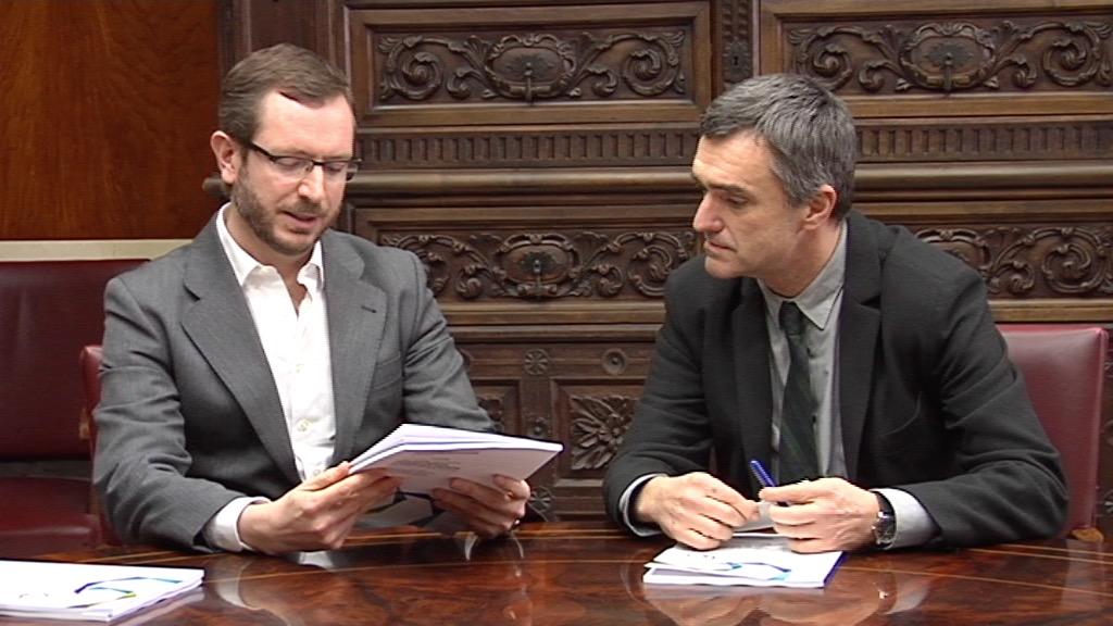 El Gobierno Vasco entrega al Ayuntamiento de Vitoria-Gasteiz los Retratos de la Memoria [6:55]