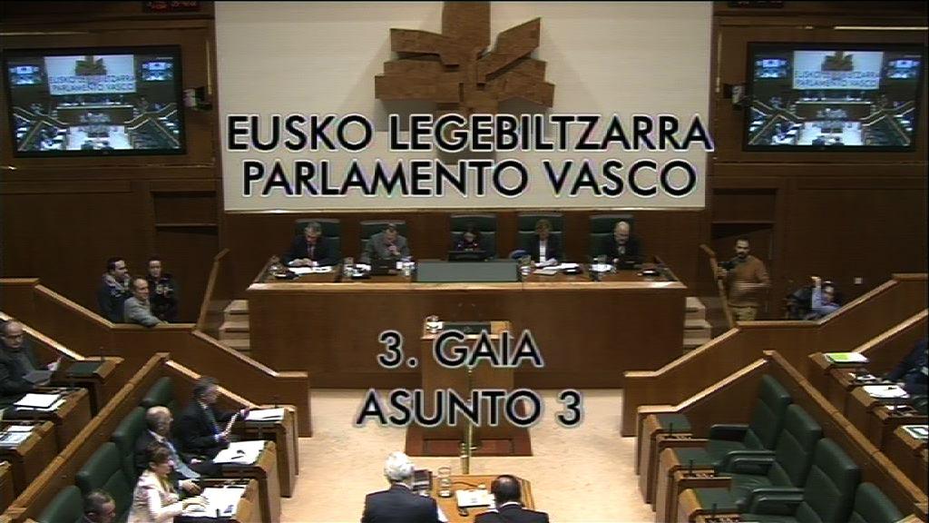 Pregunta, José Antonio Pastor, grupo Socialistas Vascos, departamento de Empleo y Políticas Sociales [8:43]