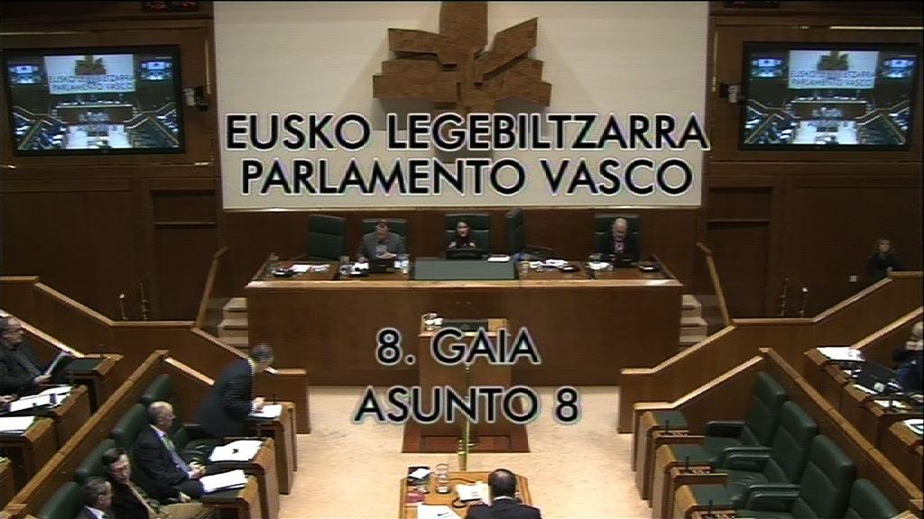 Interpelación, Anton Danborenea, grupo Popular Vasco, Kutxabank [23:59]