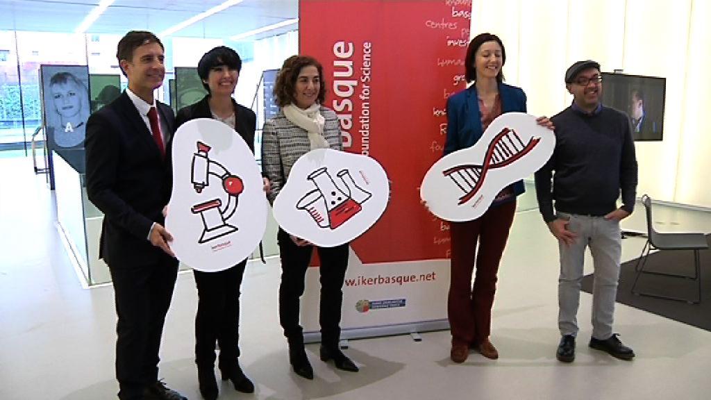 El personal investigador de Ikerbasque lograron en 2014 atraer fondos por valor de casi 20 millones de euros [31:21]