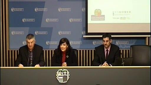 Gobierno Vasco activa GISCOM-Euskadi para desarrollar una  nueva estrategia comercial en los municipios  [30:39]