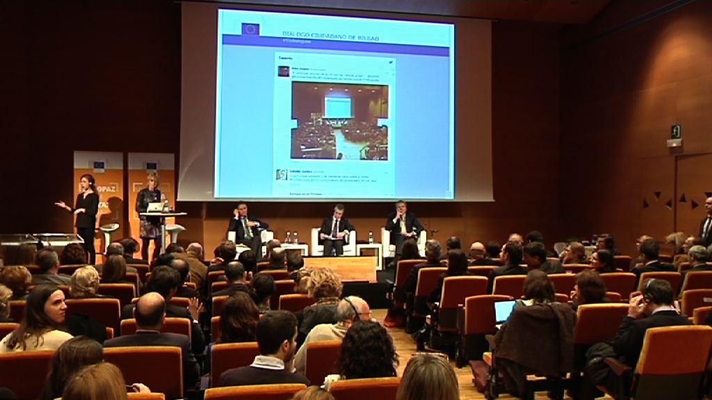El lehendakari propone la gestión directa de los fondos europeos previstos para Euskadi [109:32]