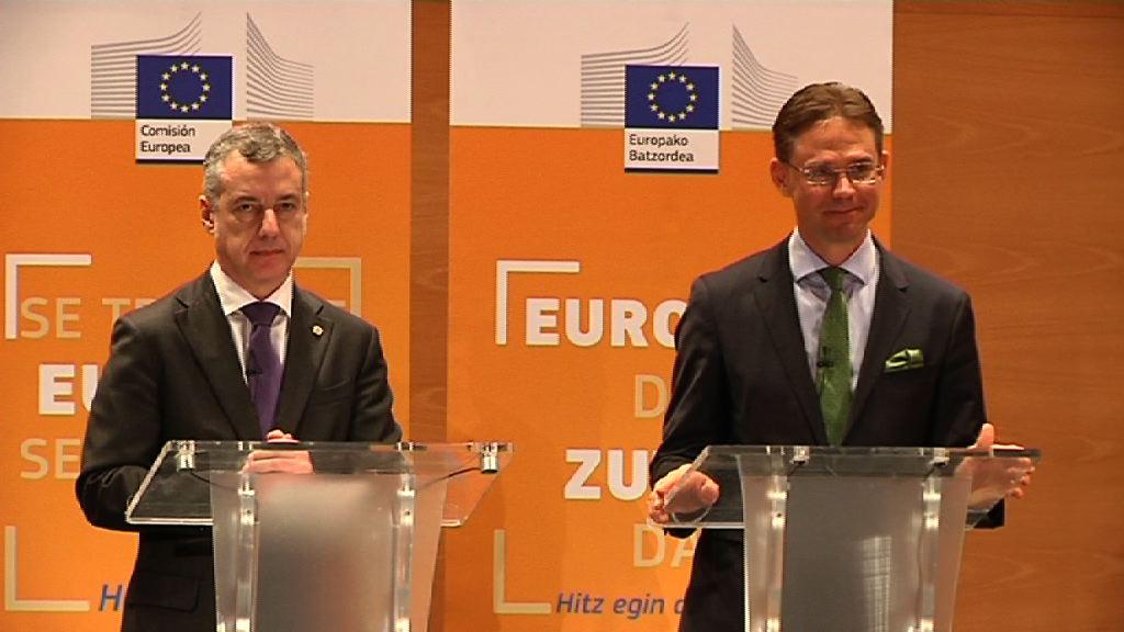 El lehendakari propone la gestión directa de los fondos europeos previstos para Euskadi [14:36]