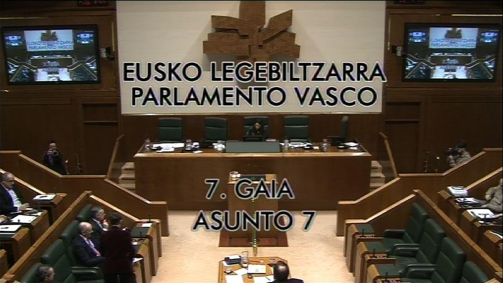 Pregunta,  Natalia Rojo Solana, grupo Socialistas Vascos, retos del Gobierno Vasco para 2020 en relación con el empleo juvenil.  [9:00]