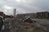 Arranca el derribo de los viejos talleres de Euskotren en Durango