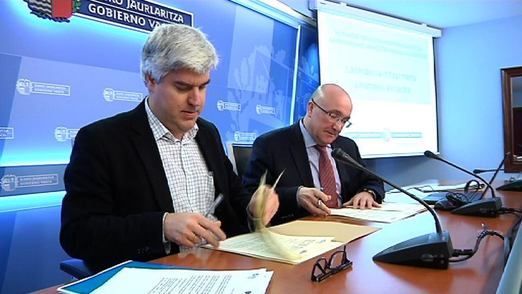 La viceconsejería de Política Lingüística y la Agencia Vasca de Cooperación para el Desarrollo, de la mano en materia de cooperación lingüística [39:05]