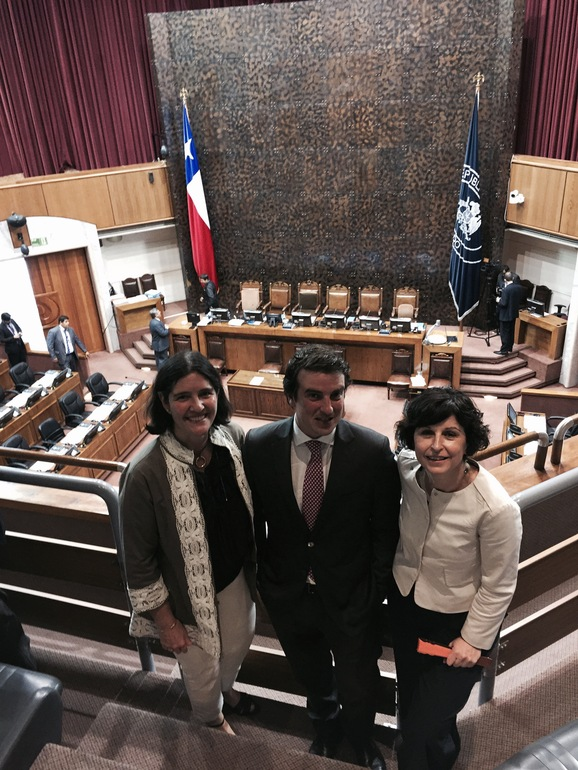 El Gobierno Vasco asiste a la investidura del nuevo Presidente del Senado de Chile