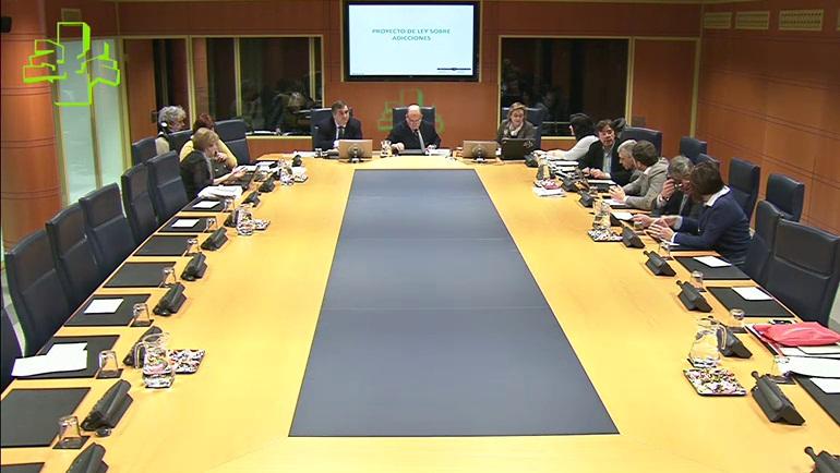 Promover la salud, prevenir las adicciones y reducir la oferta, ejes centrales de la nueva Ley sobre Adicciones de Euskadi  [54:34]