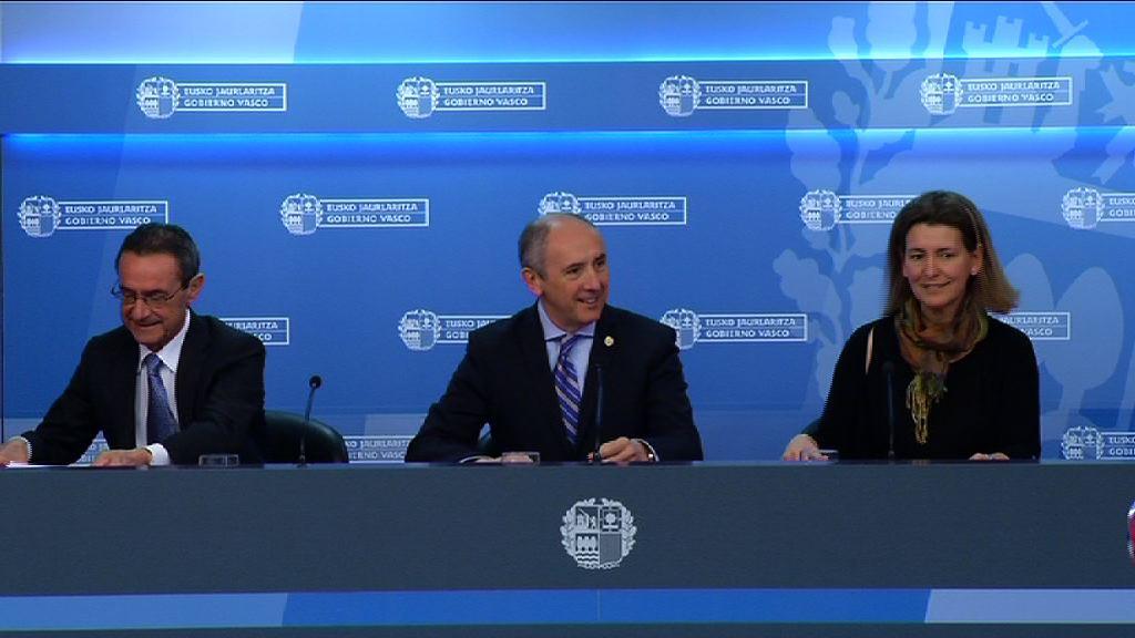 El Gobierno aprueba la Estrategia Vasca de Seguridad y Salud en el Trabajo 2015-2020 [0:00]