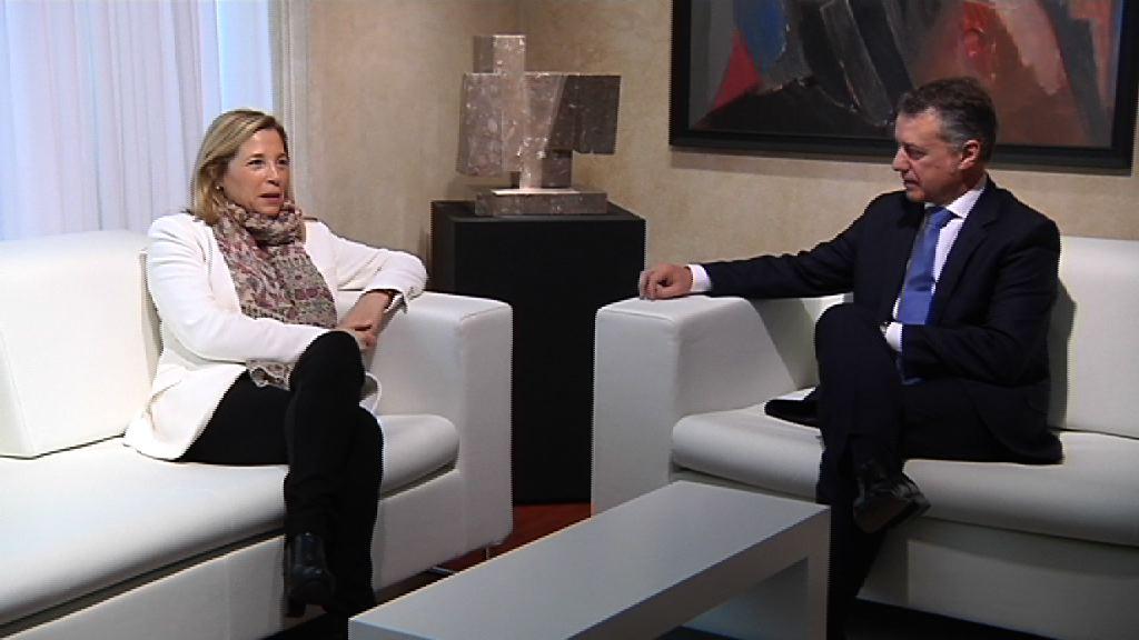 Gobierno Vasco y Catalán trabajarán unidos contra las medidas recentralizadoras del Estado  [16:54]