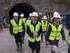El Lehendakari Urkullu comprueba el avance de las obras de la nueva estación de Altza del Metro de Donostialdea