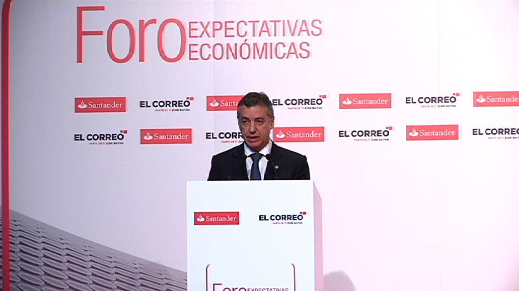 Lehendakariak Expectativas Económicas Foroan parte hartuko du [60:56]