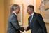 El lehendakari recibe a responsables de Thyssenkrupp Elevadores