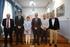 Reunión del Gobierno Vasco – SPRI y la empresa Alstom en el Ayuntamiento de Ortuella