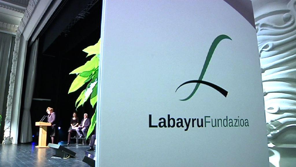 Lehendakaria Labayru Fundazioaren Plan Estrategikoaren aurkezpen ekitaldian izan da [9:38]