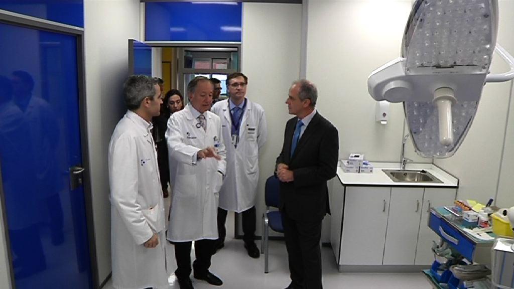 El Hospital Universitario Cruces renueva sus consultas de Dermatología [2:25]