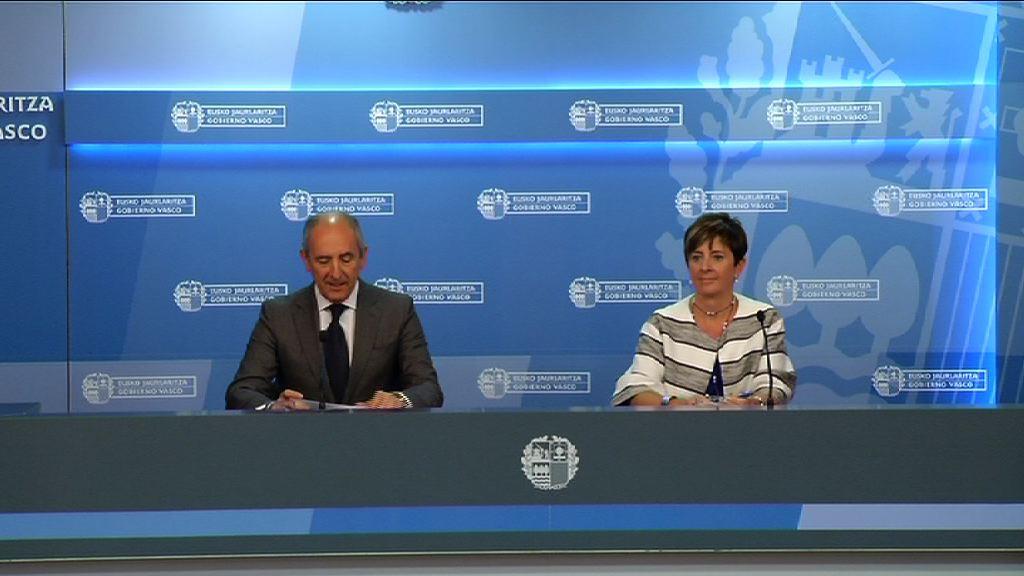 """El Gobierno Vasco pone en marcha Programas de internacionalización de empresas y jóvenes y ayudas para dar el """"último impulso"""" a empresas en crisis [47:52]"""