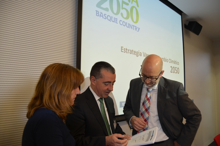 The Basque Government, the Provincial Councils and Eudel lay the foundations for the future Basque Country Climate Change Strategy