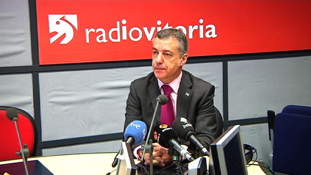 Lehendakariari elkarrizketa bal egingo diote Radio Vitoria irratian [40:42]