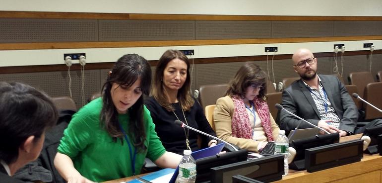 UNESCO Etxea defiende en la ONU el papel esencial de los gobiernos subestatales y la sociedad civil para la consecución de los Objetivos de Desarrollo Sostenible