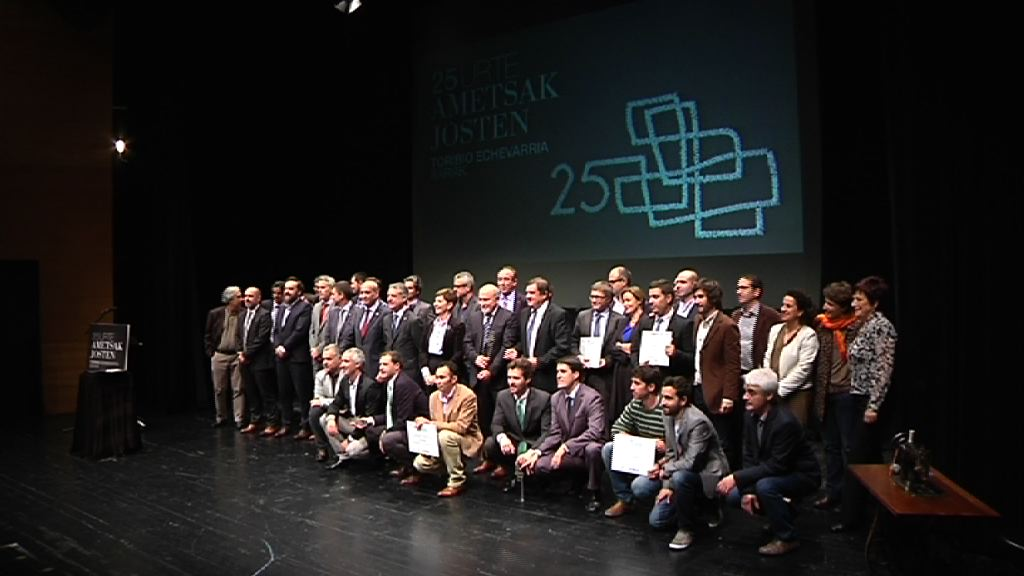 El lehendakari preside la entrega de los Premios Toribio Echevarria [7:43]