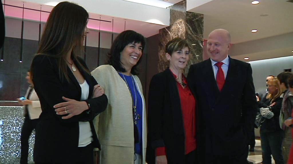 Tapia confirma que el turismo roza la subida del 10% en Semana Santa en la inauguración del Hotel NH Collection Aranzazu [11:10]