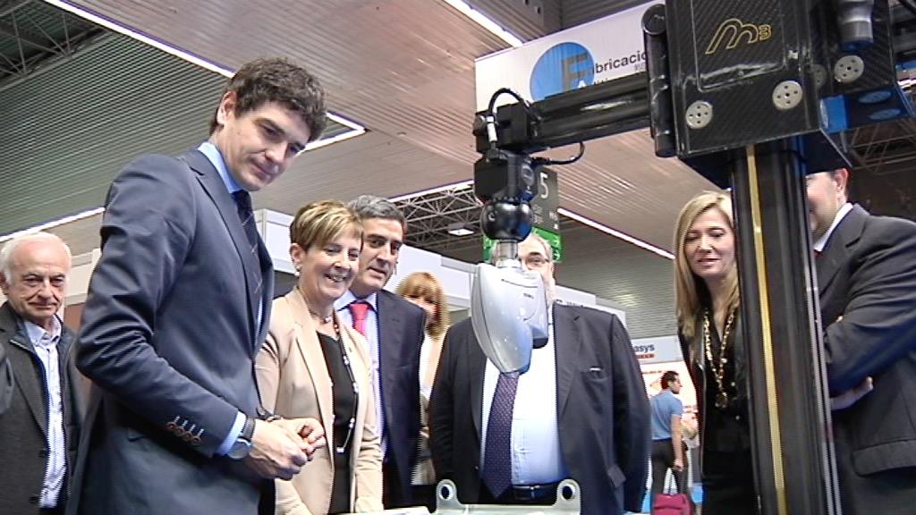Arantxa Tapia Inaugura la Semana Industrial del BEC [10:35]