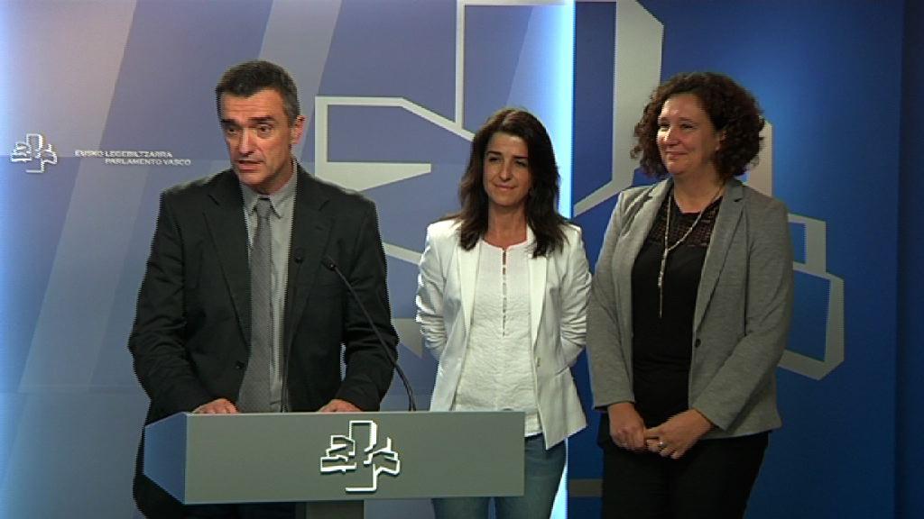 Aintzane Ezenarro dirigirá el nuevo Instituto de la Memoria, la Convivencia y los Derechos Humanos, que se ubicará en Bilbao [10:50]