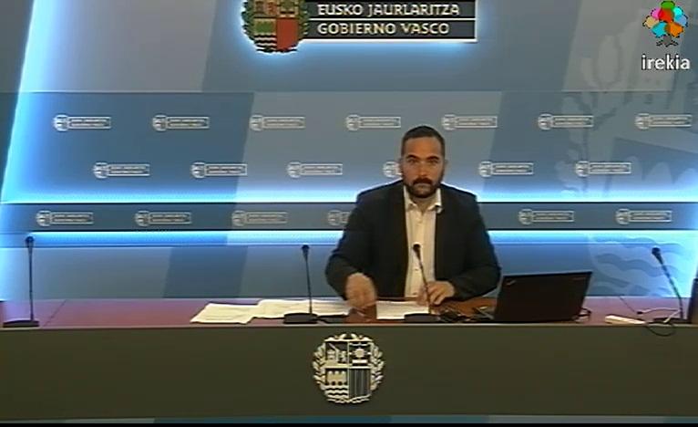 El Gobierno Vasco ha incrementado un 34% los controles antidopaje durante 2014 [32:01]