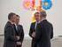 El lehendakari asiste a la reunión del Patronato del Museo Guggenheim Bilbao y a la inauguración de la nueva exposición de Jeff Koons