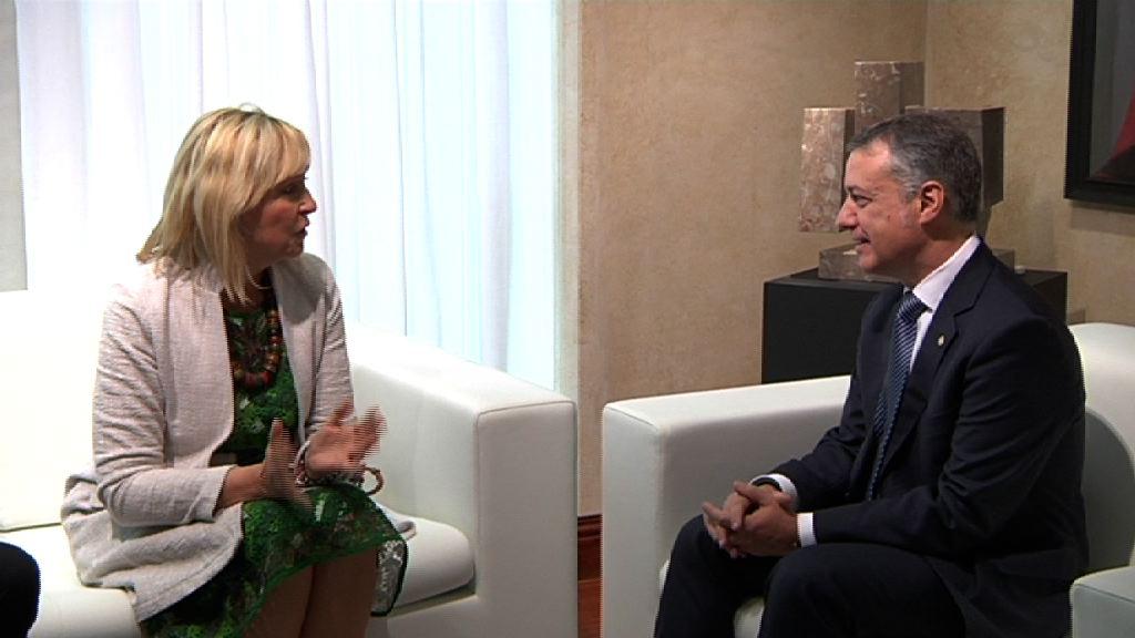 El lehendakari se reúne con la ministra de Baviera para estrechar la cooperación y realizar un seguimiento de los acuerdos comunes [20:01]