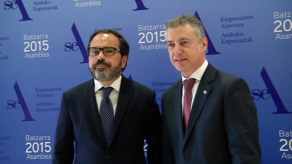 Lehendakariak SEA-Arabako Enpresariak-en Batzarrari amaiera eman dio [6:04]