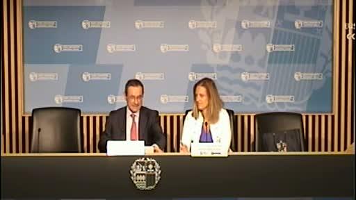 El Gobierno aspira a que la seguridad y la salud en el trabajo se conviertan en un rasgo distintivo de la excelencia empresarial vasca [38:29]