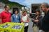 """Oregi: """"el restaurado malecón de Lazunarri minorará significativamente el trasvase de arena hacia  el puerto de Lekeitio"""""""