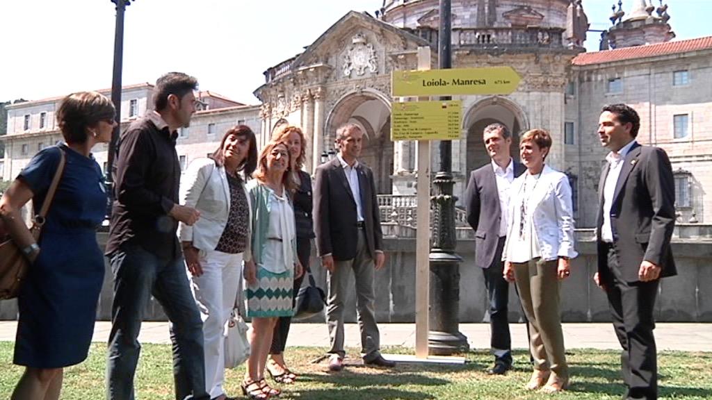 Euskadi y Catalunya presentan el Camino Ignaciano en Loiola [5:42]