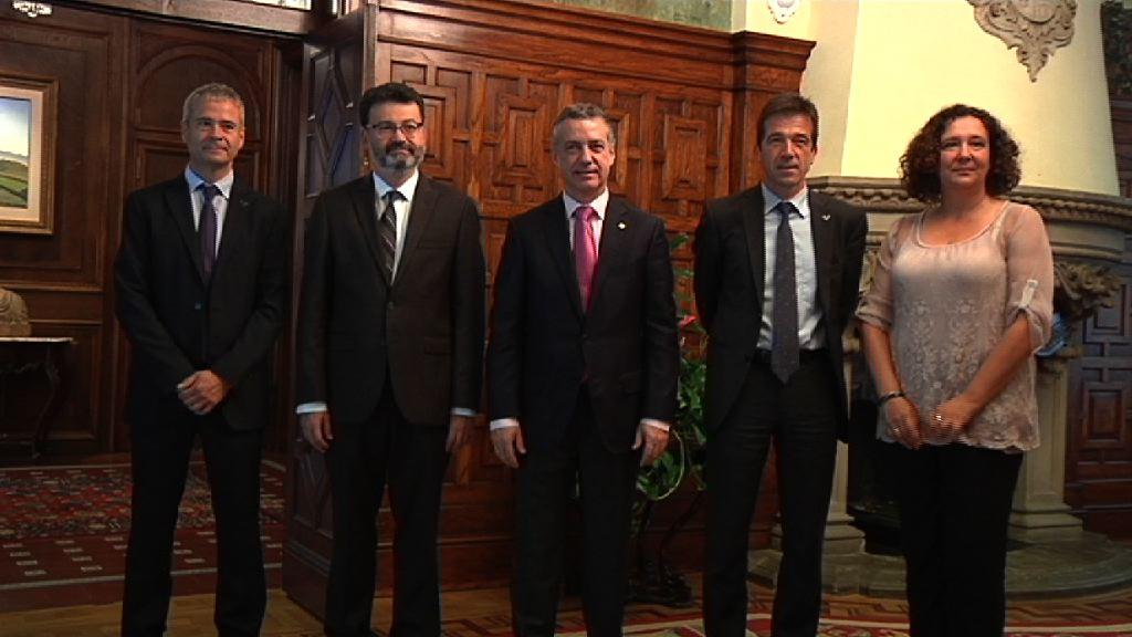 El lehendakari recibe al presidente de la Corte Interamericana de Derechos Humanos [1:18]